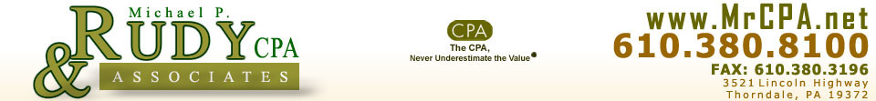 Michael P. Rudy and Associates - mrcpa.net